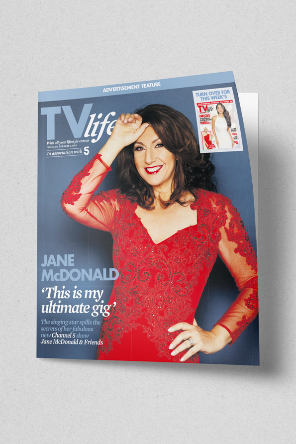 Front cover of TV Life